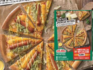 Papa John's Debuts New American Hot Dog Pizza In South Korea