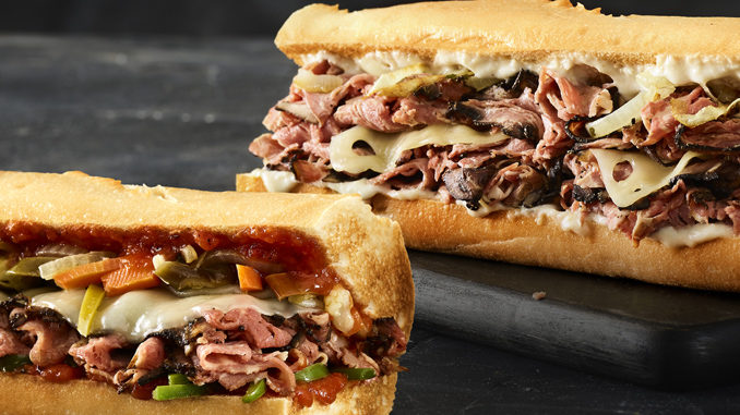 Quiznos Offers By One, Get One Half-Off Prime Rib Sub Deal From November 29 Through December 1, 2019