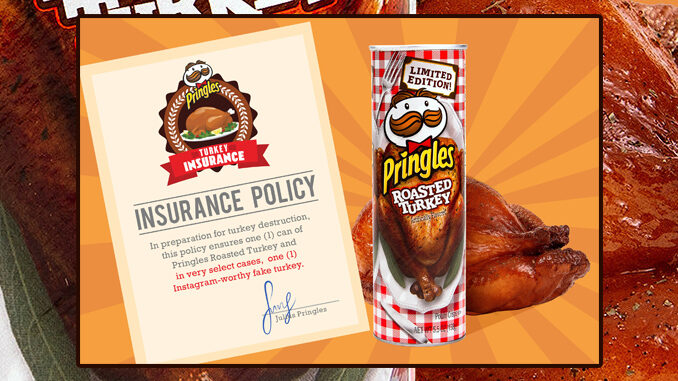 Roasted Turkey Pringles Available Now At Retailers Nationwide