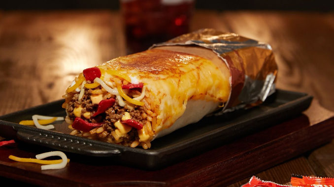 Taco Bell Tests New Grilled Cheese Burrito