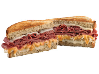 Which Wich Welcomes Back Reuben On Rye Sandwich