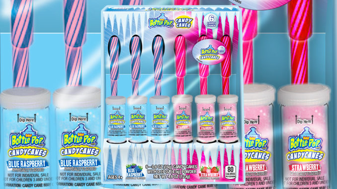 Bazooka Launches New Juicy Drop Candy Canes, Welcomes Back Baby Bottle Pop Candy Canes
