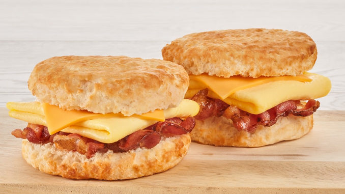 Bojangles' Puts Together 2 for $4 Bacon, Egg And Cheese Biscuit Deal