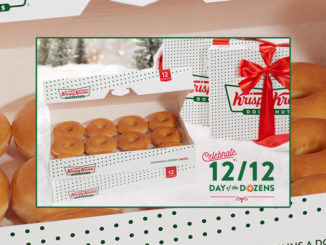 Buy Any Dozen, Get A Dozen Original Glazed Doughnuts For $1 At Krispy Kreme On December 12, 2019