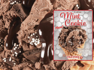 Cold Stone Creamery Debuts New Fudge Mint Cookie Ice Cream As Part Of 2019 Holiday Flavor Line-Up