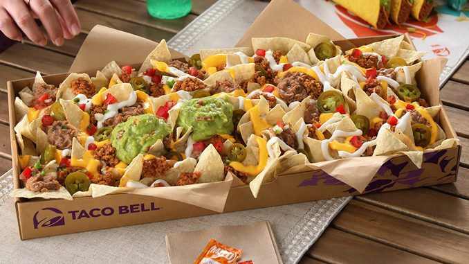 New Nachos Party Pack Coming To Taco Bell On December 26, 2019