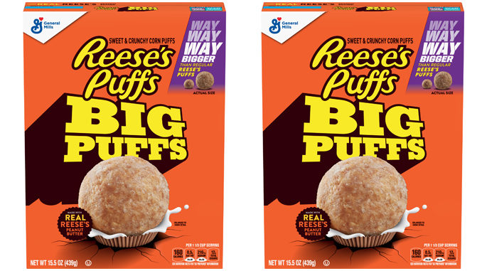 New Reese's Puffs Big Puffs Debut Exclusively At Walmart For First 60 Days
