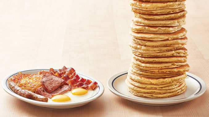 'All You Can Eat Pancakes' With Any Breakfast Combo Purchase At IHOP Through March 1, 2020