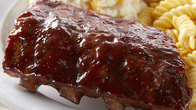 Boston Market Debuts New Baby Back Ribs