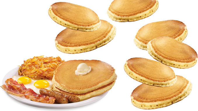 Denny's Introduces New $6.99 Super Duper Slam Served With All-You-Can-Eat Buttermilk Pancakes