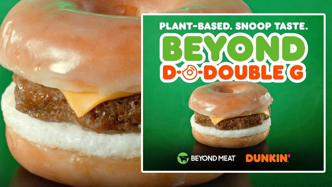 Dunkin' Offering New Snoop Dogg-Inspired 'The Beyond D-O-Double G Sandwich' Through January 19, 2020