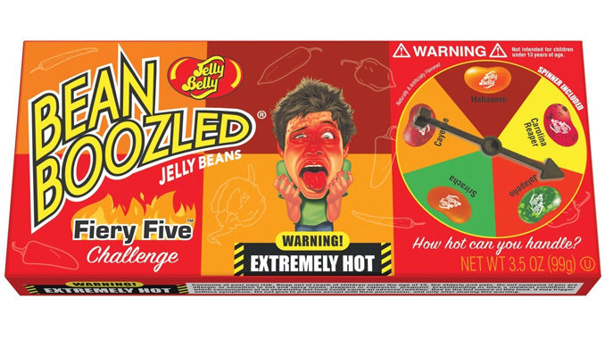 Jelly Belly Releases New Line Of Extremely Hot Jelly Beans