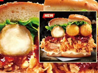 KFC Serving New 'Fall In Cream Cheese Zinger Burger' In South Korea