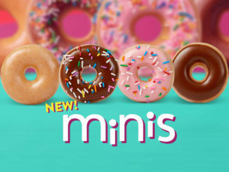 Krispy Kreme Introduces New Mini Doughnuts