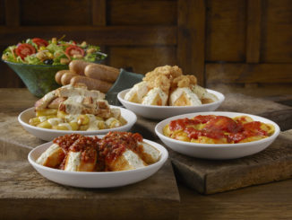 New Cheese Stuffed Shells Join Olive Garden's Returning Never Ending Stuffed Pastas Event