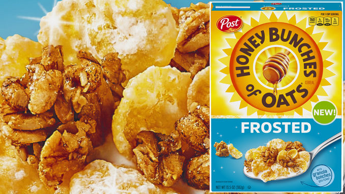 Post Introduces New Honey Bunches Of Oats Frosted Cereal
