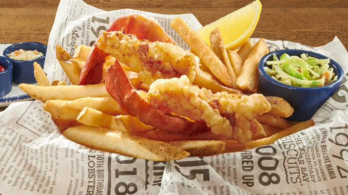 Red Lobster Features New Lobster And Chips As Part Of 2020 Lobsterfest Promotion