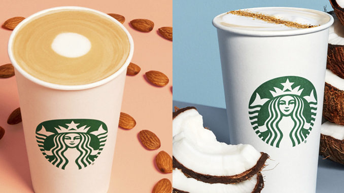 Starbucks introduces 2 new non-dairy beverages to kick off 2020