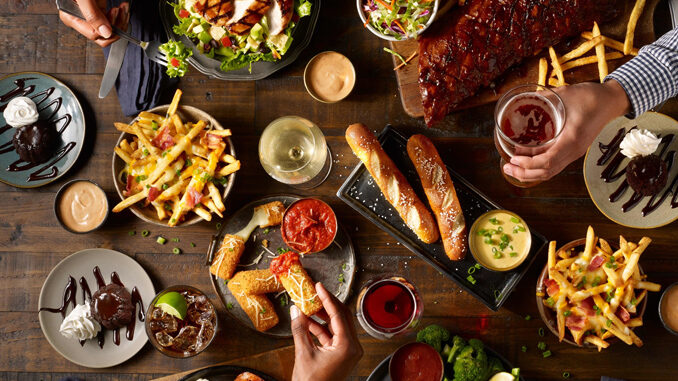 TGI Fridays Debuts New Fridays Feast For 2 Starting At $20