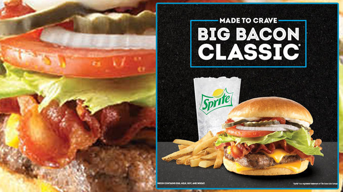 Wendy's Welcomes Back 1990s Fan-Favorite Big Bacon Classic Cheeseburger