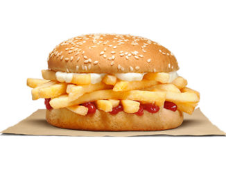 Burger King Is Offering A New French Fry Sandwich In New Zealand