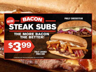 Checkers And Rally's Introduce New Bacon Steak Subs