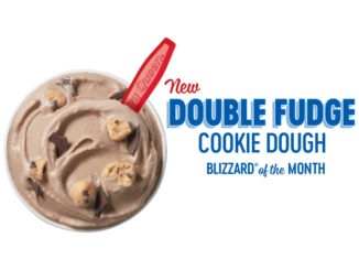 Dairy Queen Introduces New Double Fudge Cookie Dough Blizzard And New Treat Heart Cakes