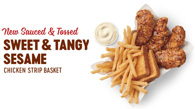 Dairy Queen Introduces New Sauced And Tossed, Sweet And Tangy Sesame Chicken Strip Basket