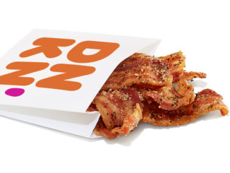 Dunkin' Introduces New Snackin' Bacon