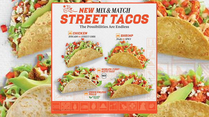 El Pollo Loco Debuts New Plant-Based Chicken Taco As Part Of New Mix And Match Street Tacos Menu