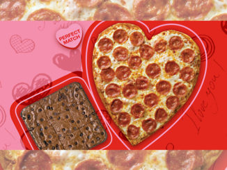 Heart-Shaped Pizzas Return To Papa John's On February 10, 2020