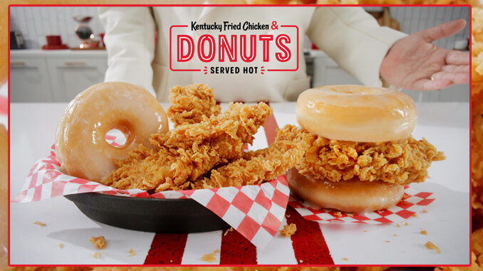 KFC Launches New Kentucky Fried Chicken & Donuts Nationwide