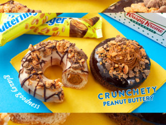 Krispy Kreme Introduces Butterfinger Doughnuts