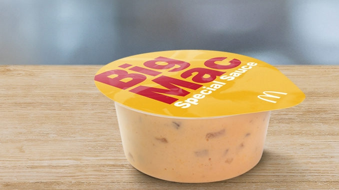 McDonald's Is Selling Big Mac Special Sauce 'Sauce Pots' In The UK