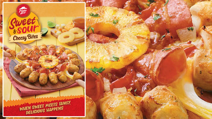 Pizza Hut Serves New Sweet And Sour Cheesy Bites Pizza In Malaysia