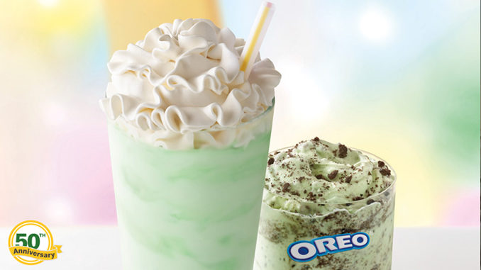Shamrock Shake Returns On February 19, 2020 Alongside New Oreo Shamrock McFlurry