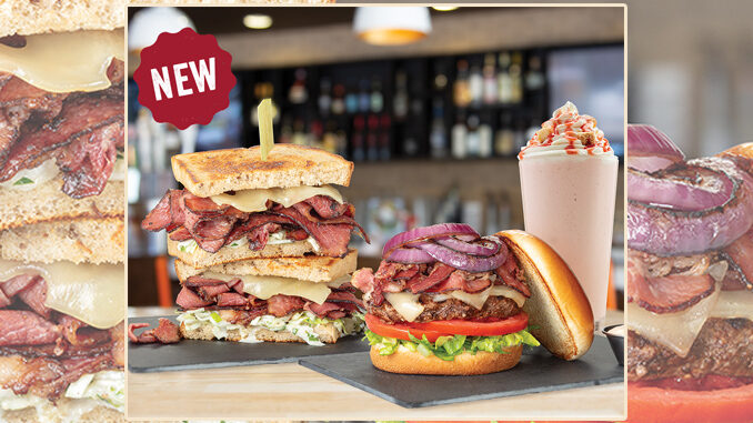 The Counter Custom Burgers Introduces New NYC Pastrami Burger And New Pastrami Reuben
