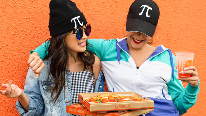 Blaze Offers $3.14 11-Inch Pizza App Deal On March 14, 2020