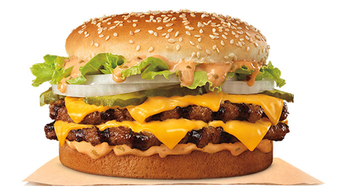 Burger King Welcomes Back The Big King XL Sandwich - Chew Boom