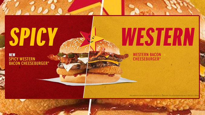 Carl's Jr. Launches New Spicy Western Bacon Cheeseburger Systemwide