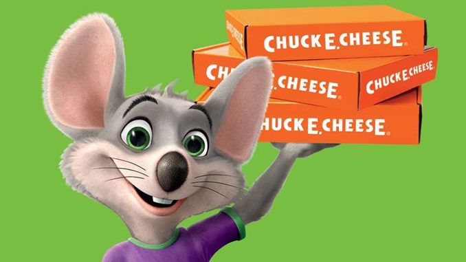 Chuck E. Cheese Introduces New Value-Priced Family Packages For Pick-Up Or Delivery
