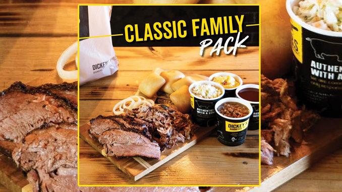 Dickey's Offers New Classic Family Pack Deal For $34.99
