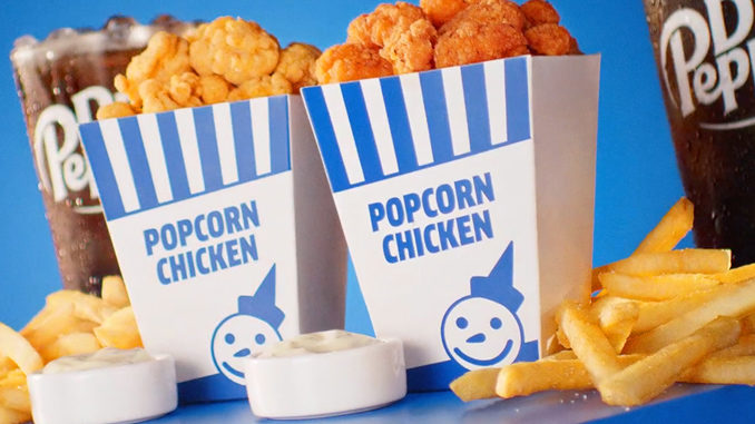 Jack In The Box Spotted Selling New Popcorn Chicken