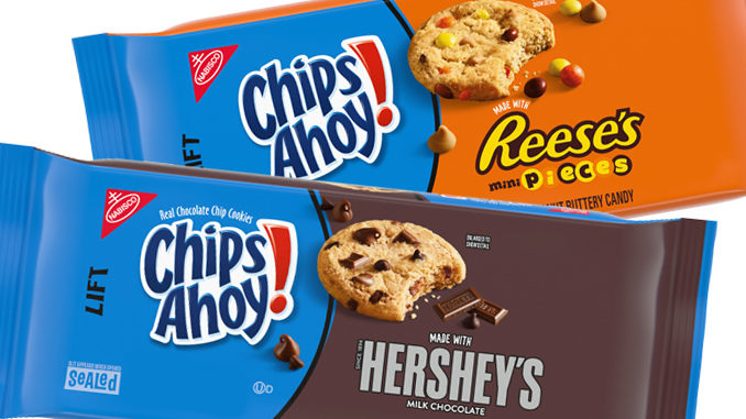 Nabisco Bakes Up New Chips Ahoy! Cookies Made With Mini Reese's Pieces, And Hershey's Milk Chocolate