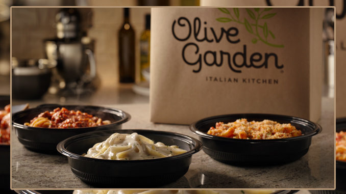 Olive Garden Introduces Buy One, Take One Carside ToGo Offer