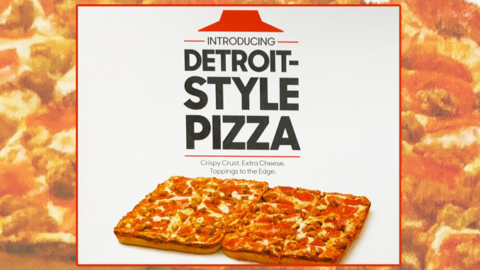 Pizza Hut Spotted Serving New Detroit Style Pizza