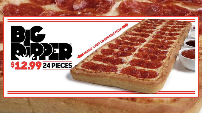 Pizza Hut Welcomes Back The Big Dipper Pizza