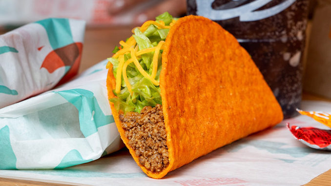Taco Bell Offers Free Doritos Locos Tacos For Everyone In America At The Drive-Thru On March 31, 2020