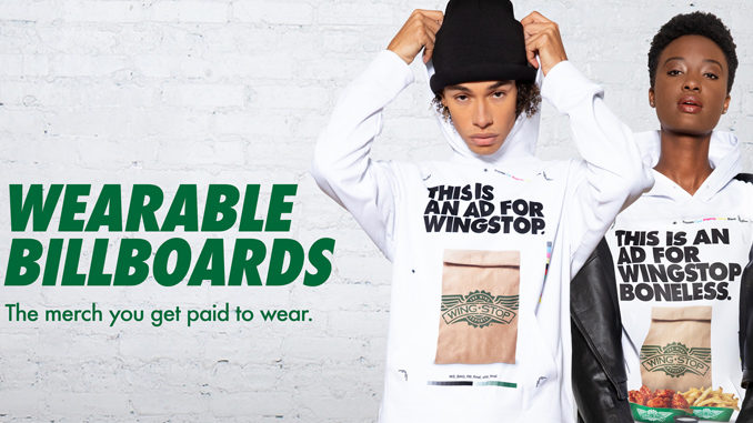 Wingstop Will Pay You To Wear Free Branded Merchandise