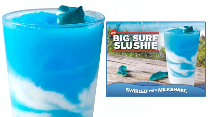 Checkers And Rally's Introduce New Big Surf Slushie